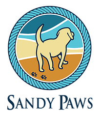 Sandy paws dog daycare boarding grooming supplies winthrop ma logo image solutioingenieria Images